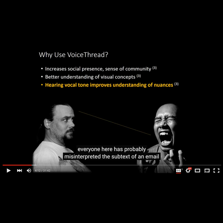 VoiceThread via LearningStudio Workshop video
